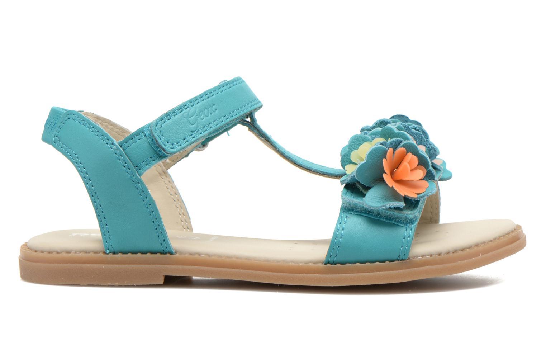 Sandales et nu-pieds Geox J S.KARLY G.B - VIT.LISCIO Bleu vue derrière