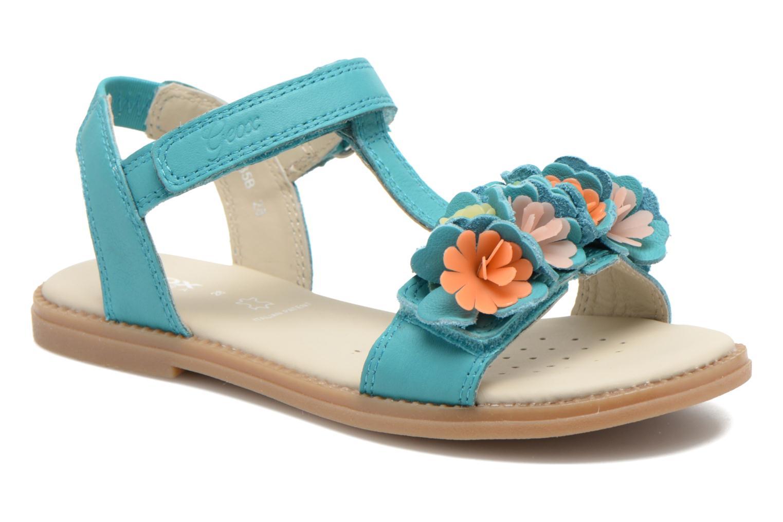 Sandales et nu-pieds Geox J S.KARLY G.B - VIT.LISCIO Bleu vue détail/paire