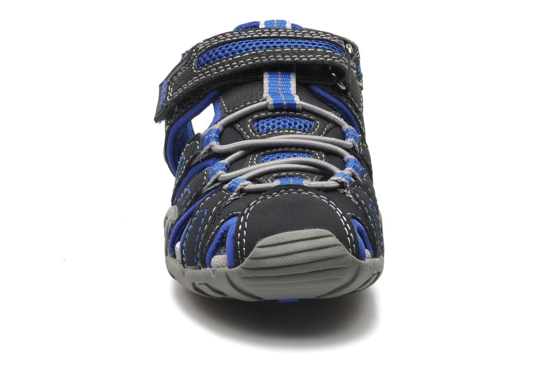 Sandalen Geox J Sand Kraze G J5224G blau schuhe getragen
