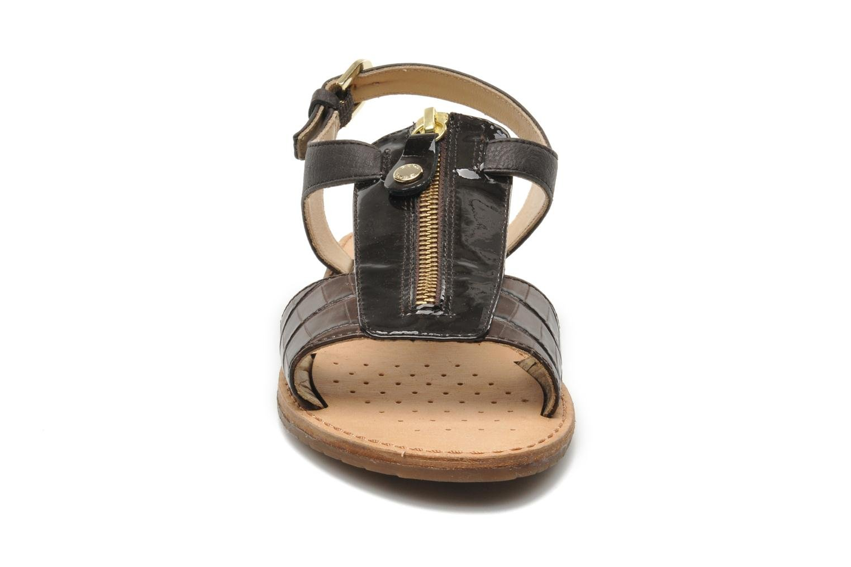 Sandali e scarpe aperte Geox D JOLANDA K-D5275K Marrone modello indossato