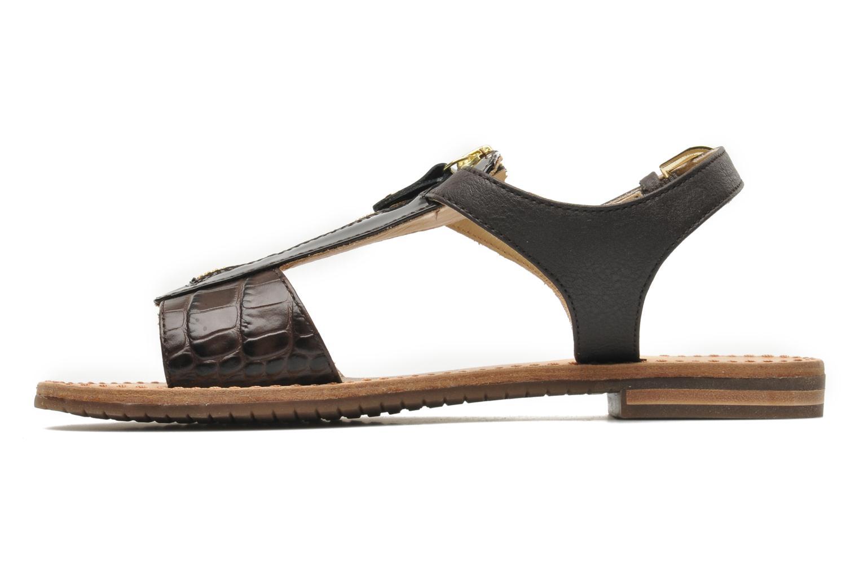 Sandali e scarpe aperte Geox D JOLANDA K-D5275K Marrone immagine frontale