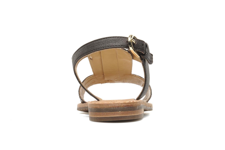 Sandali e scarpe aperte Geox D JOLANDA K-D5275K Marrone immagine destra