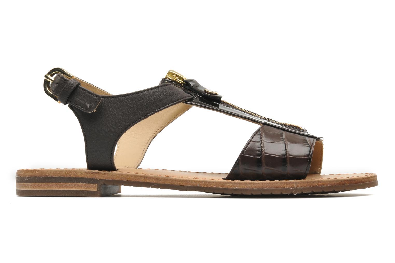 Sandali e scarpe aperte Geox D JOLANDA K-D5275K Marrone immagine posteriore