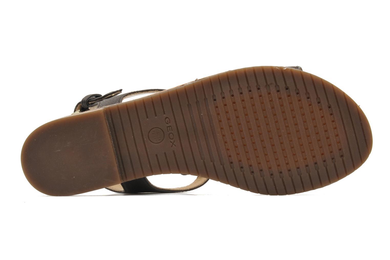 Sandali e scarpe aperte Geox D JOLANDA K-D5275K Marrone immagine dall'alto
