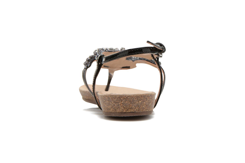 Sandales et nu-pieds Geox D VINCA F-D5297F Noir vue droite