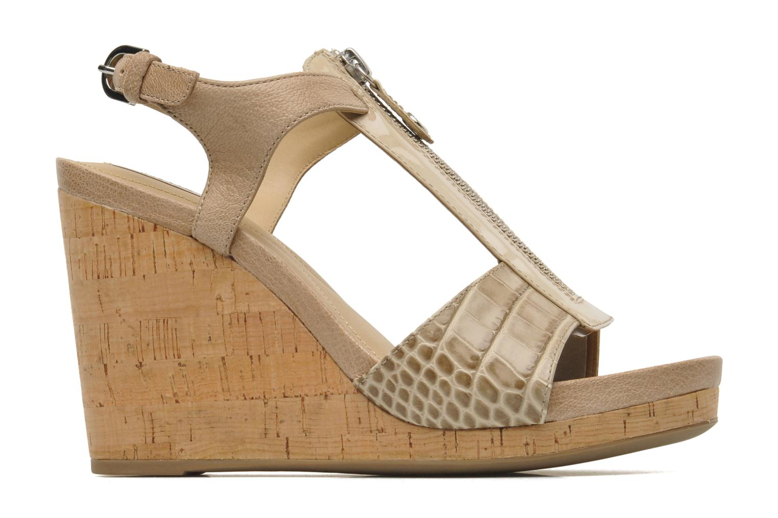 Sandals Geox D VICTORY F-D52P5F Beige back view