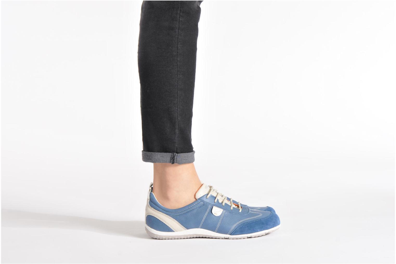 Sneakers Geox D VEGA A D3209A Zwart onder