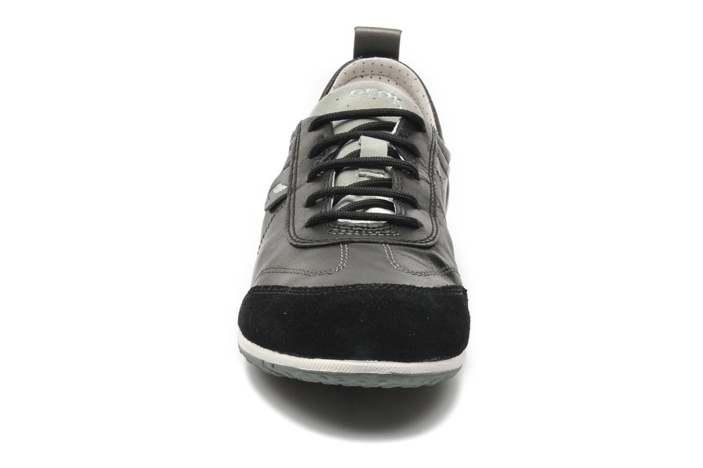 Baskets Geox D VEGA A D3209A Noir vue portées chaussures