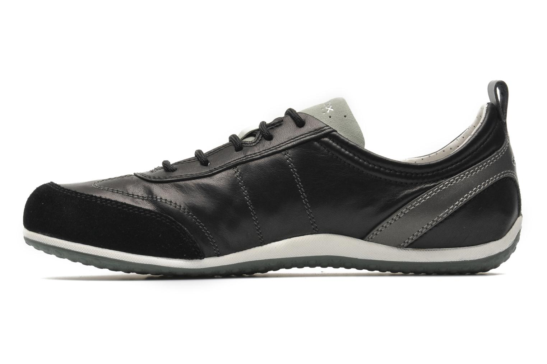 Sneakers Geox D VEGA A D3209A Zwart voorkant