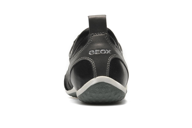 Sneakers Geox D VEGA A D3209A Zwart rechts