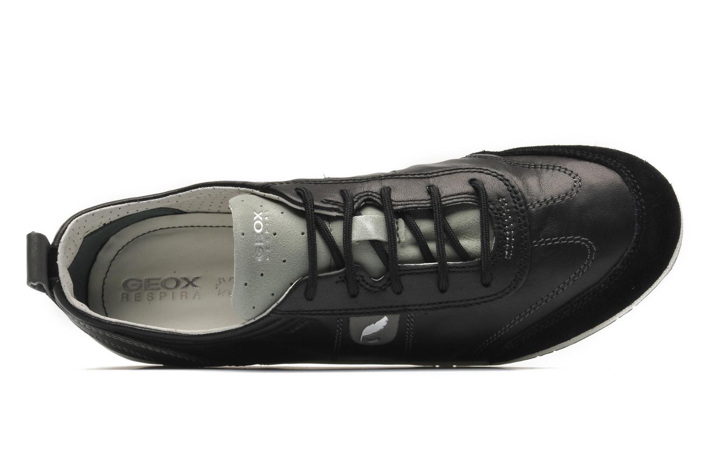 Sneakers Geox D VEGA A D3209A Zwart links