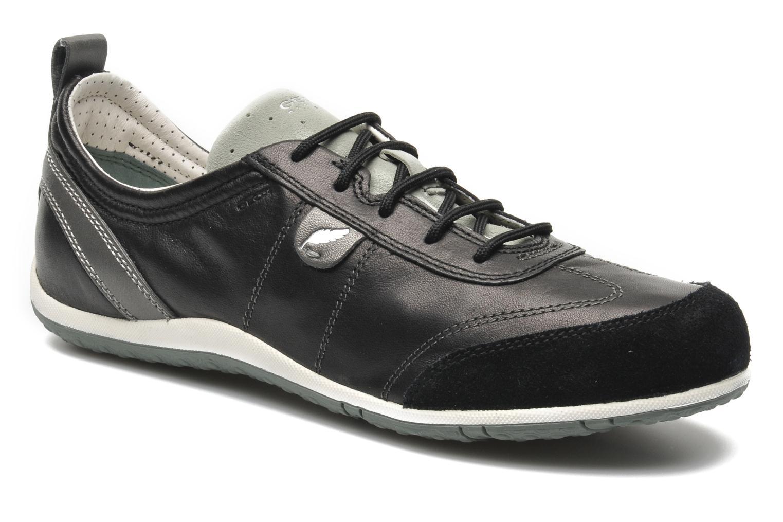 Sneakers Geox D VEGA A D3209A Zwart detail