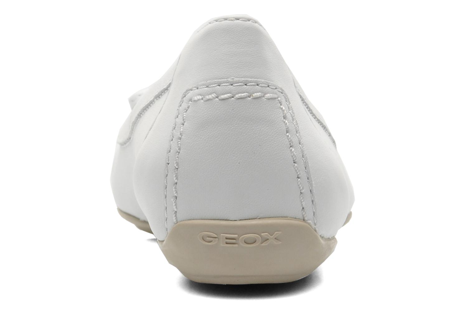 Ballet pumps Geox D CHARLENE A D32Y7A White view from the right