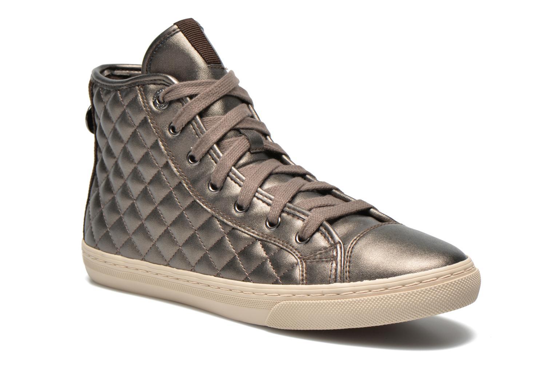 Sneakers Geox D NEW CLUB A D4258A Oro e bronzo vedi dettaglio/paio