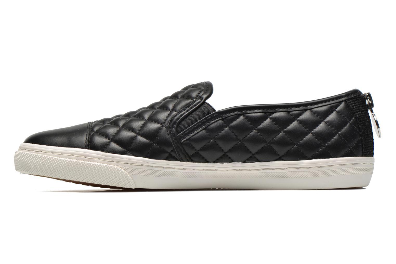Sneaker Geox D NEW CLUB C D5258C schwarz ansicht von vorne