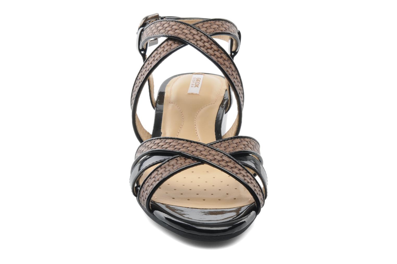 Sandalen Geox D LUPE A D5283A mehrfarbig schuhe getragen