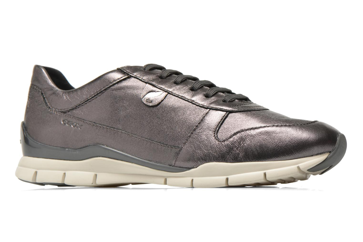 Sneakers Geox D SUKIE A D52F2A Grigio immagine posteriore