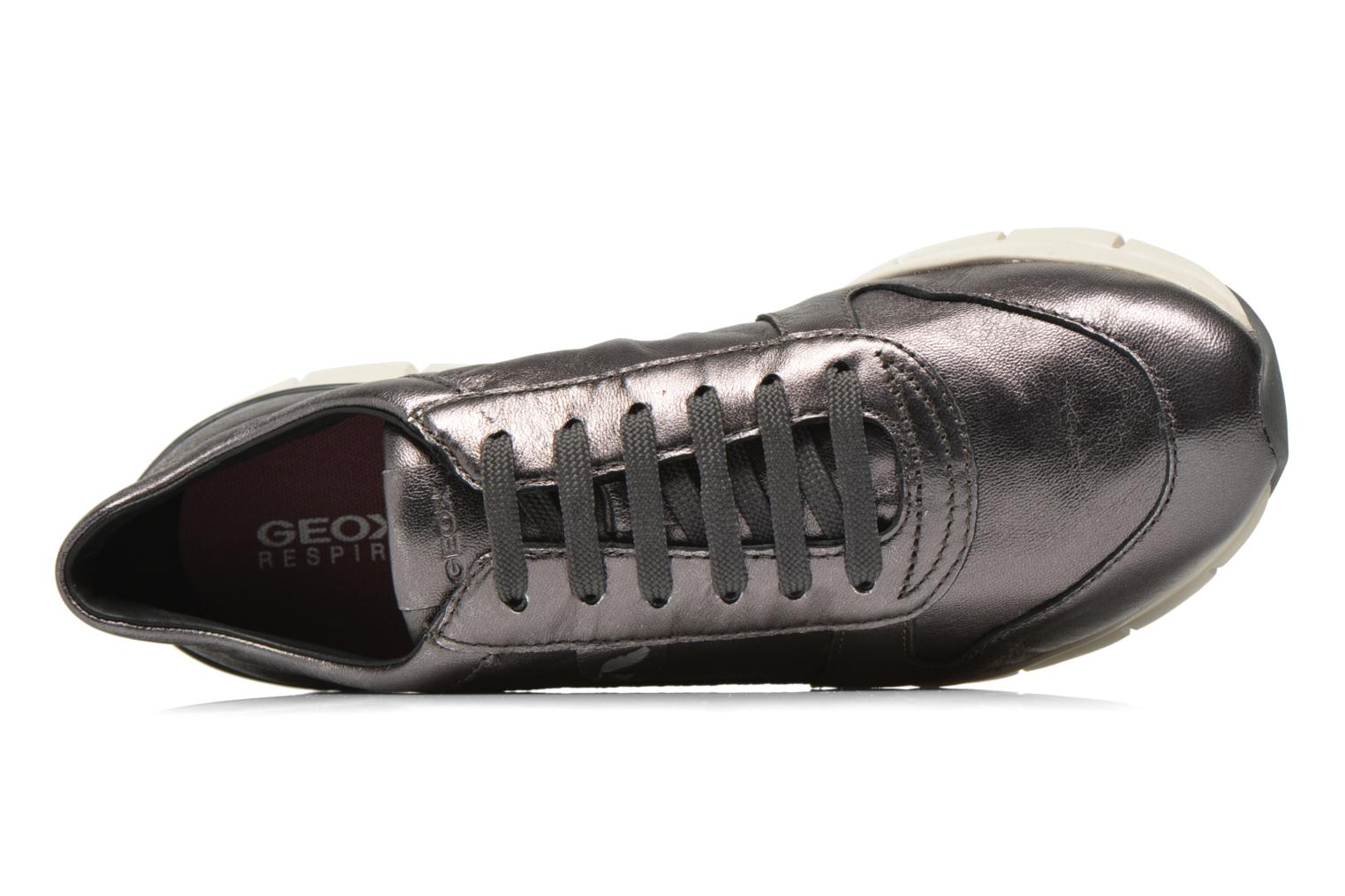 Sneakers Geox D SUKIE A D52F2A Grigio immagine sinistra