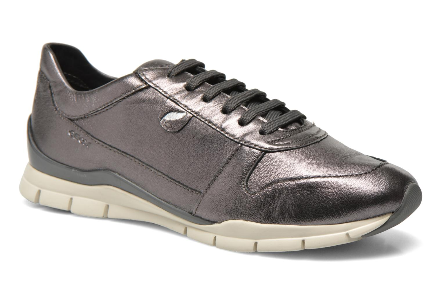 Trainers Geox D SUKIE A D52F2A Grey detailed view/ Pair view