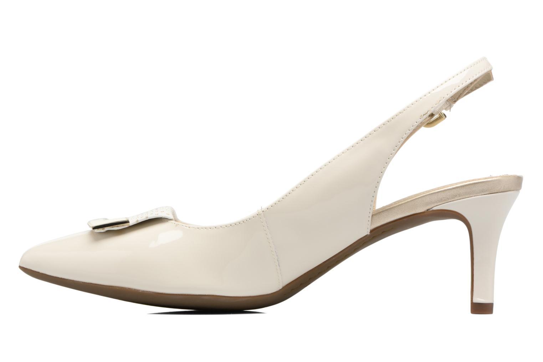 Zapatos de tacón Geox D ELINA D D52P8D Blanco vista de frente