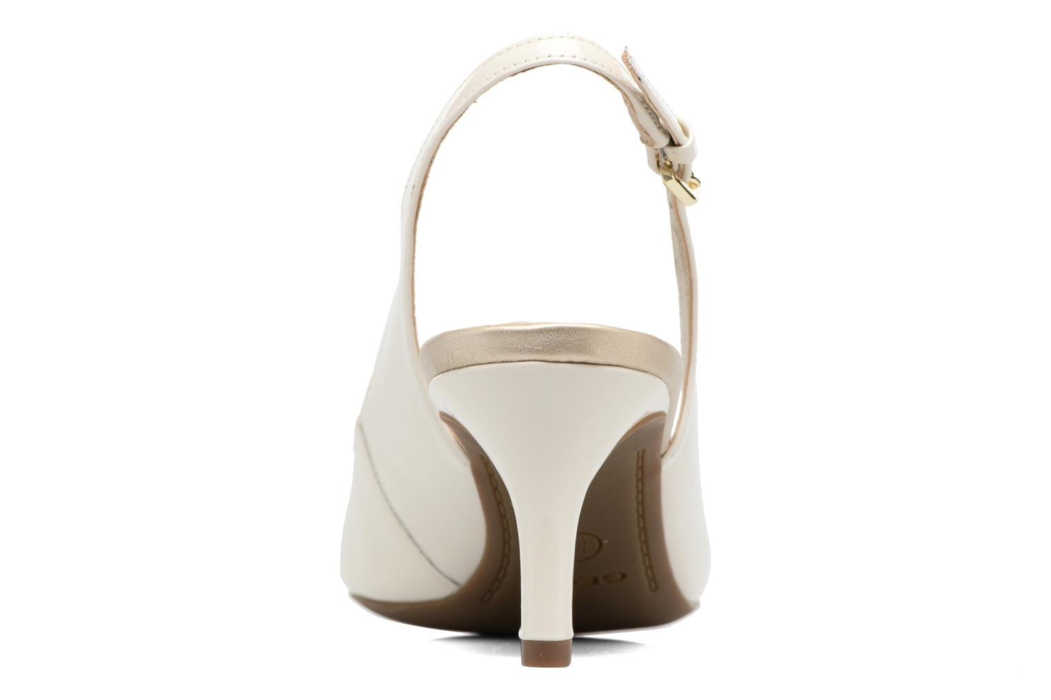 High heels Geox D ELINA D D52P8D White view from the right