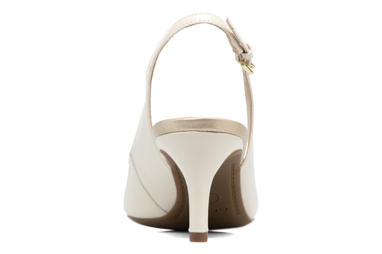 Zapatos de tacón Geox D ELINA D D52P8D Blanco vista lateral derecha