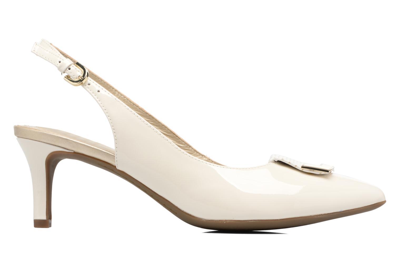 High heels Geox D ELINA D D52P8D White back view