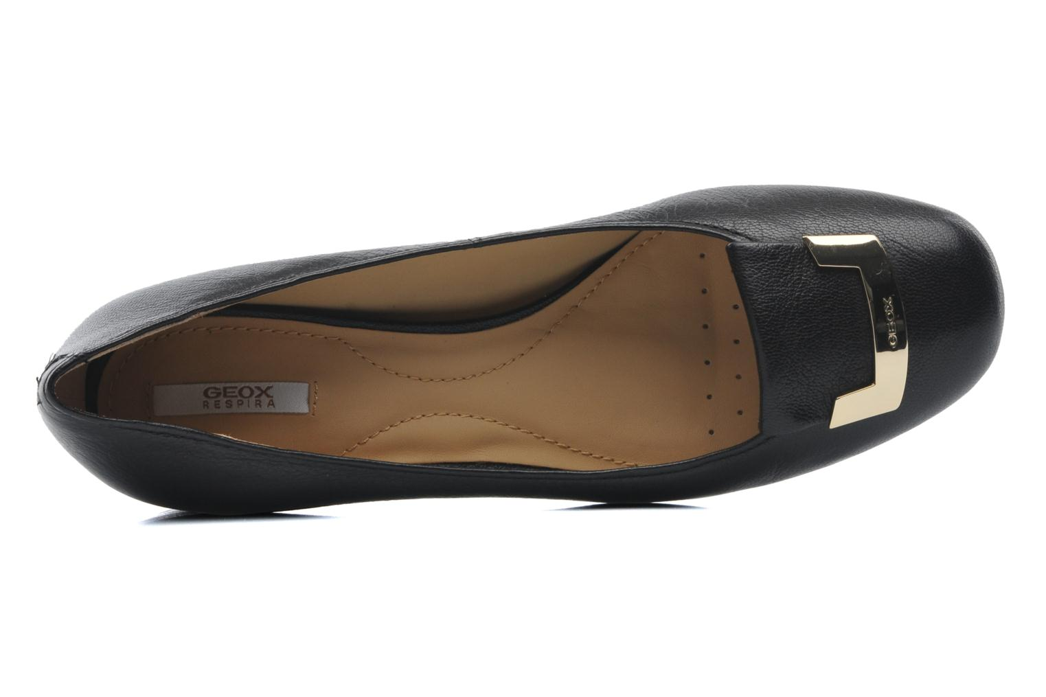 Ballet pumps Geox D CAREY A D52V8A Black view from the left