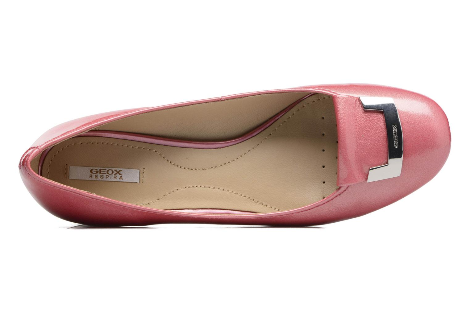 Ballet pumps Geox D CAREY A D52V8A Pink view from the left