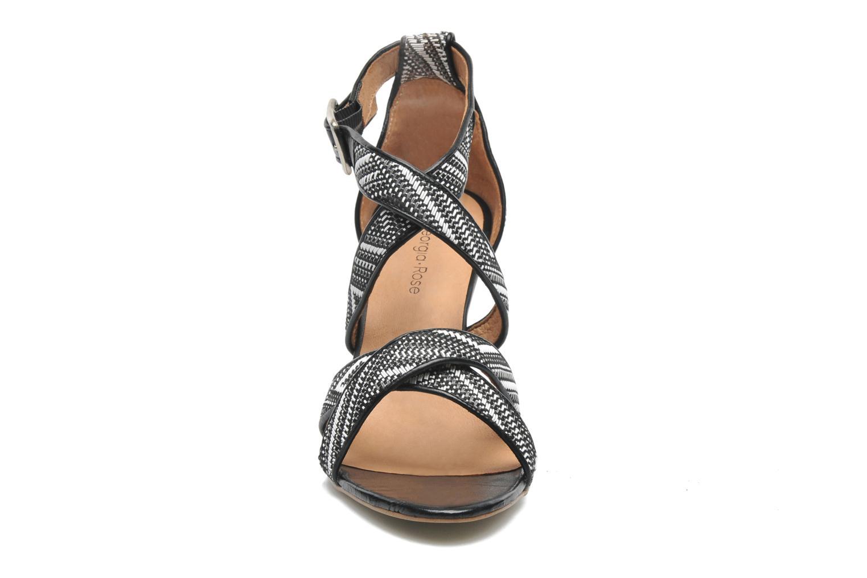 Sandales et nu-pieds Georgia Rose Tatoff Multicolore vue portées chaussures