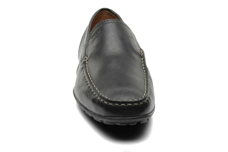 Mocassins Geox U MONET V U1144V Noir vue portées chaussures
