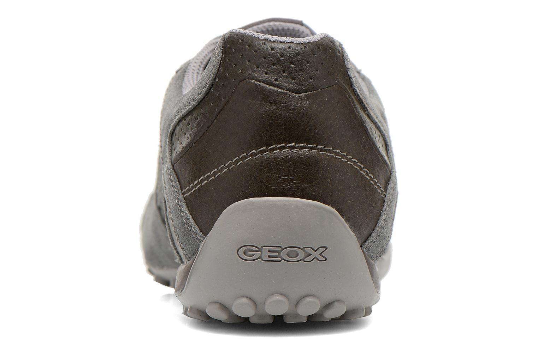Sneakers Geox U SNAKE K U4207K Grijs rechts
