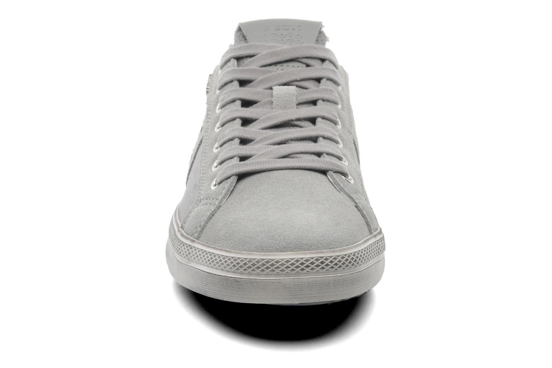Baskets Geox U SMART D U52X2D Gris vue portées chaussures