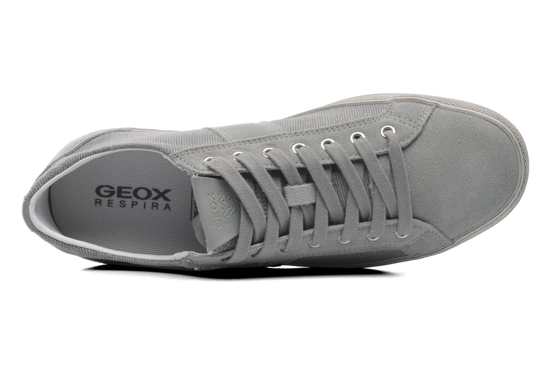 Baskets Geox U SMART D U52X2D Gris vue gauche