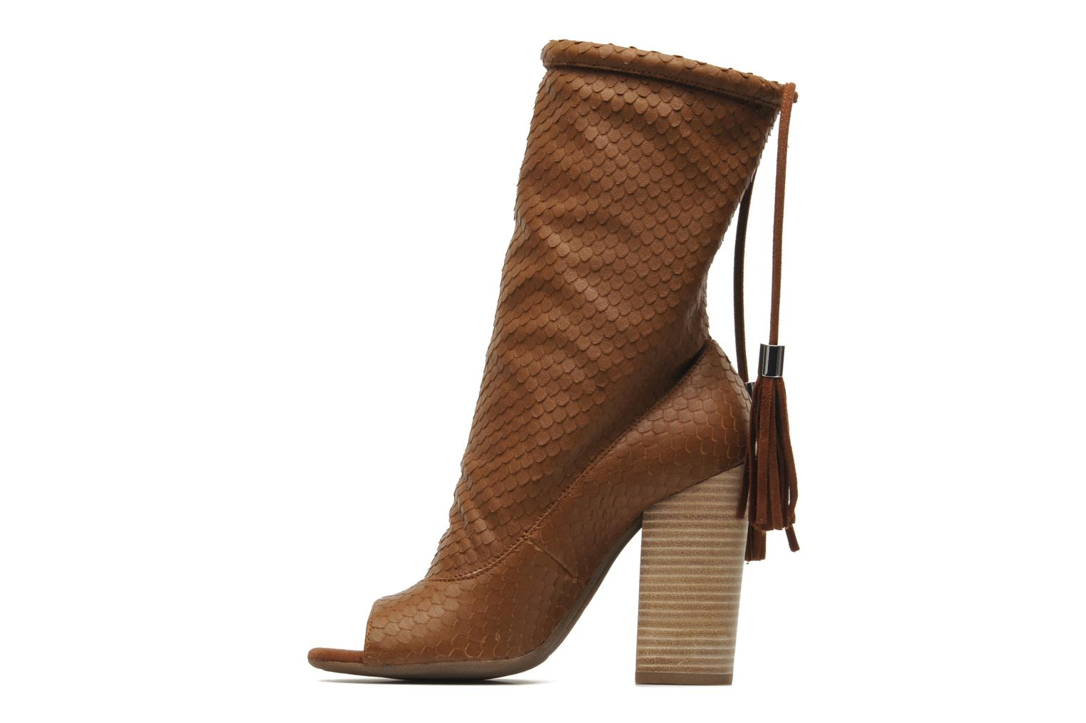 Ankle boots Geox By Patrick Cox D NOLINA A D5288A Brown front view