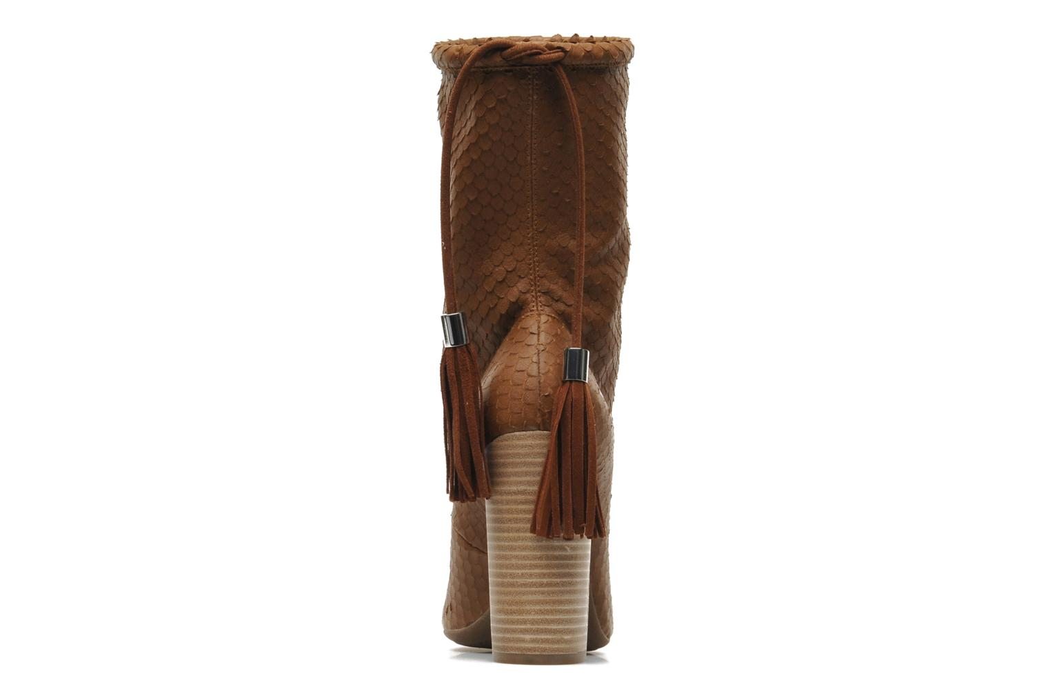 Ankle boots Geox By Patrick Cox D NOLINA A D5288A Brown view from the right