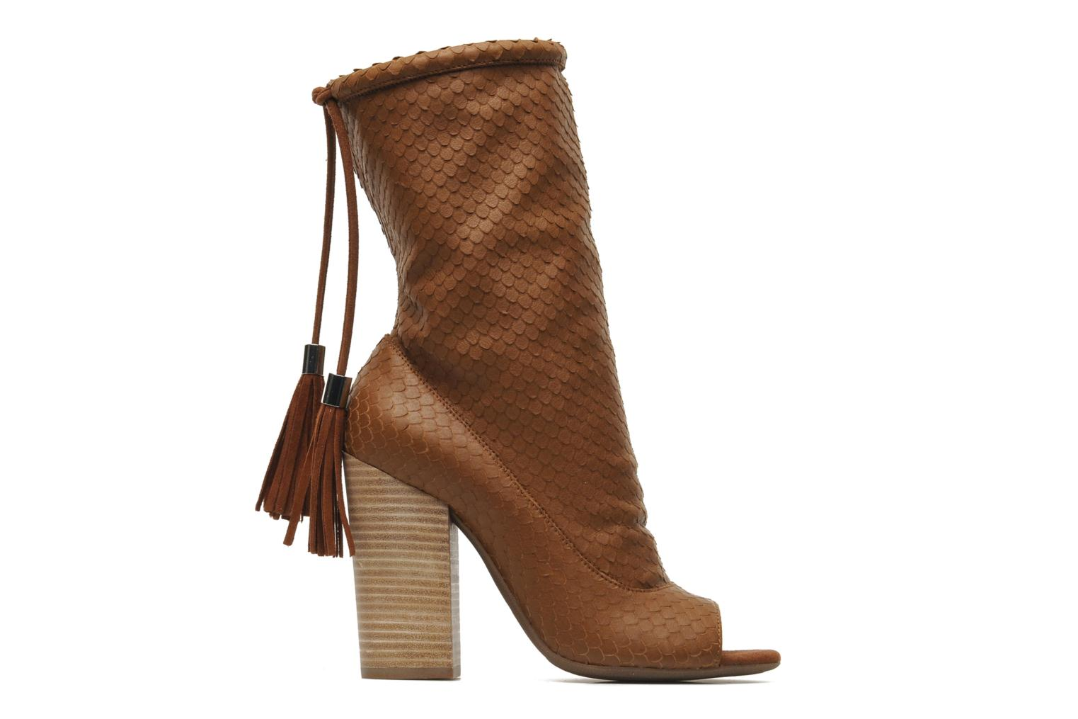 Ankle boots Geox By Patrick Cox D NOLINA A D5288A Brown back view