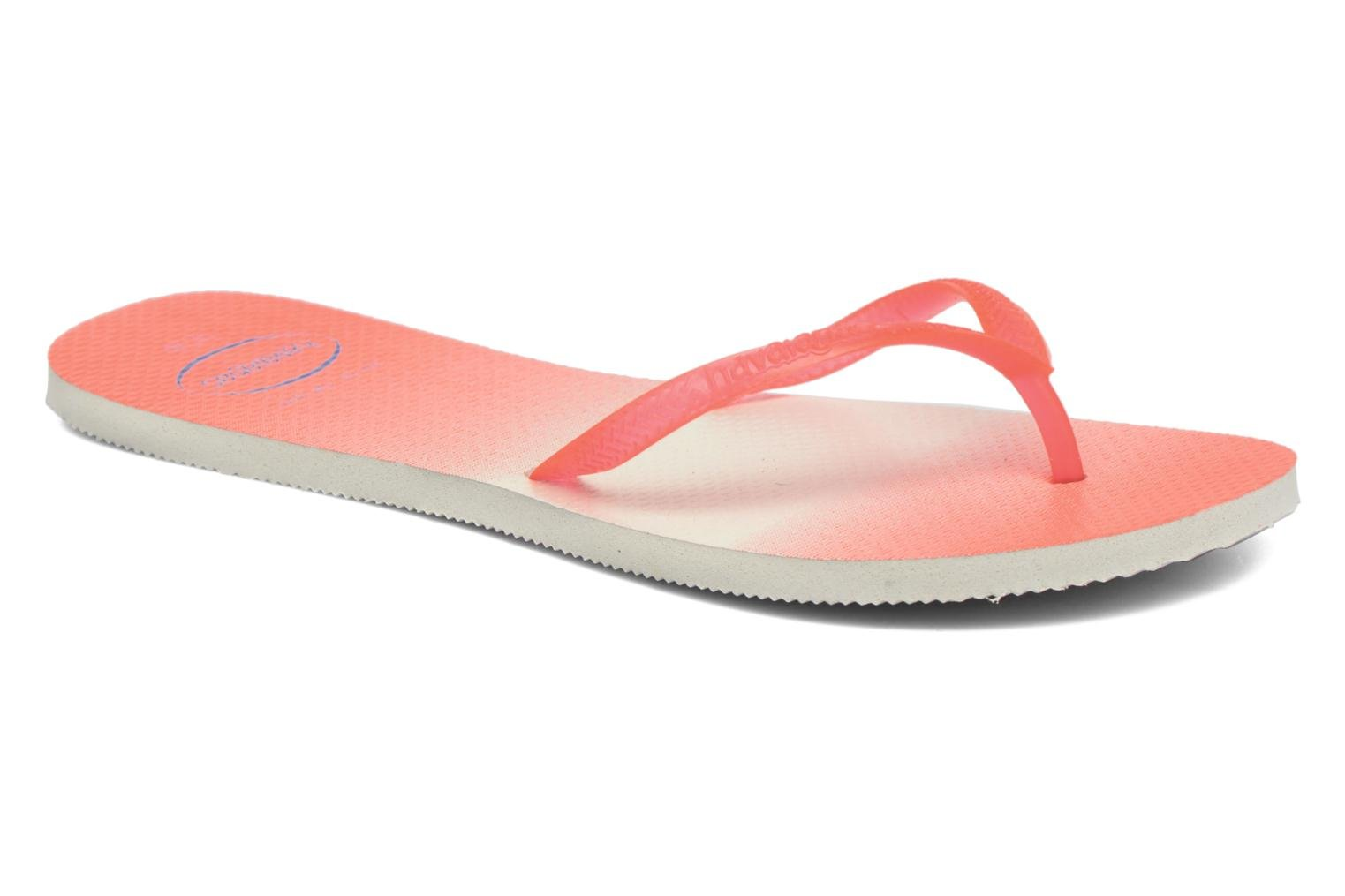 Flip flops Havaianas Havaianas Flat Sunset Orange detailed view/ Pair view