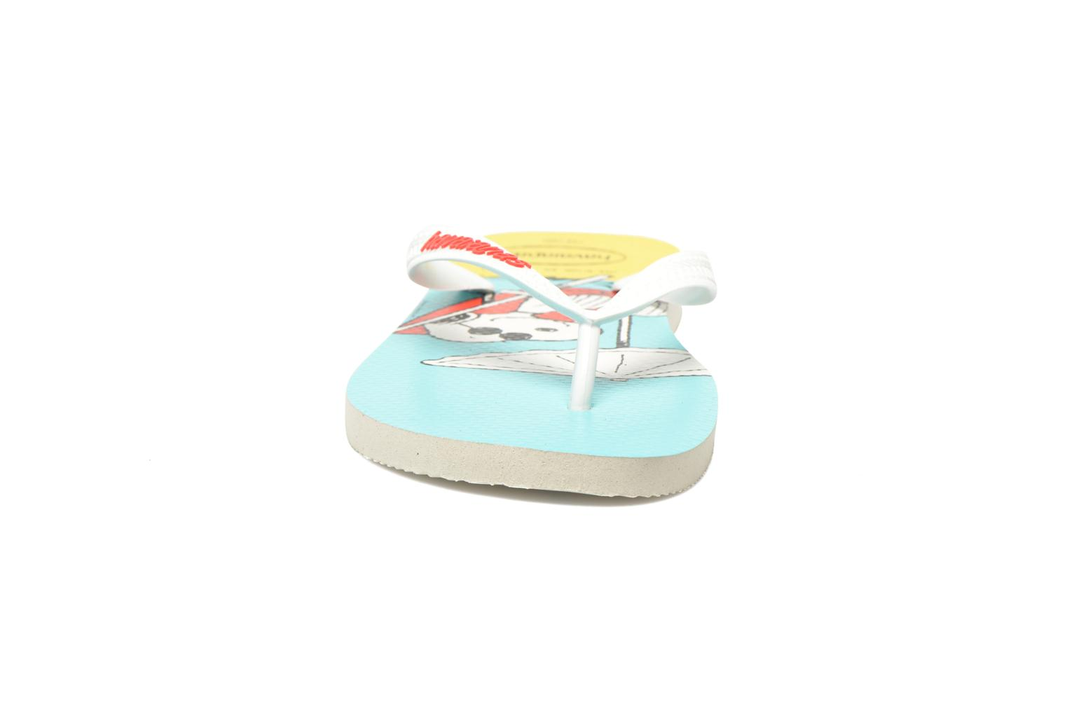 Tongs Havaianas Havaianas Snoopy H Multicolore vue portées chaussures