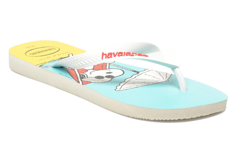 Havaianas Snoopy H White White