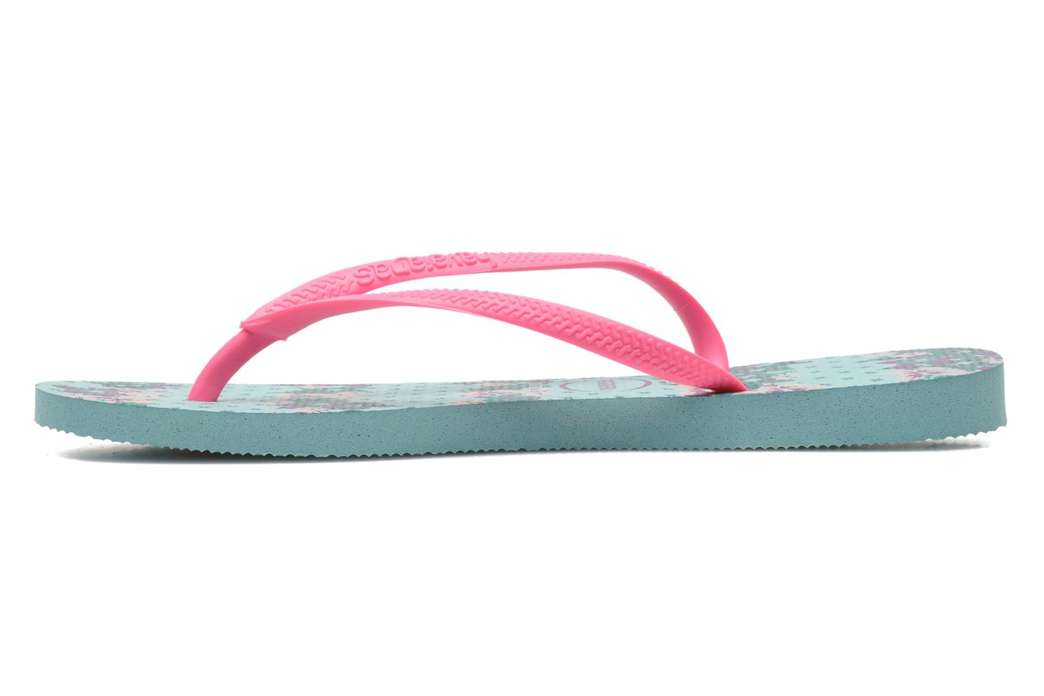 Tongs Havaianas Slim Provence Rose vue face