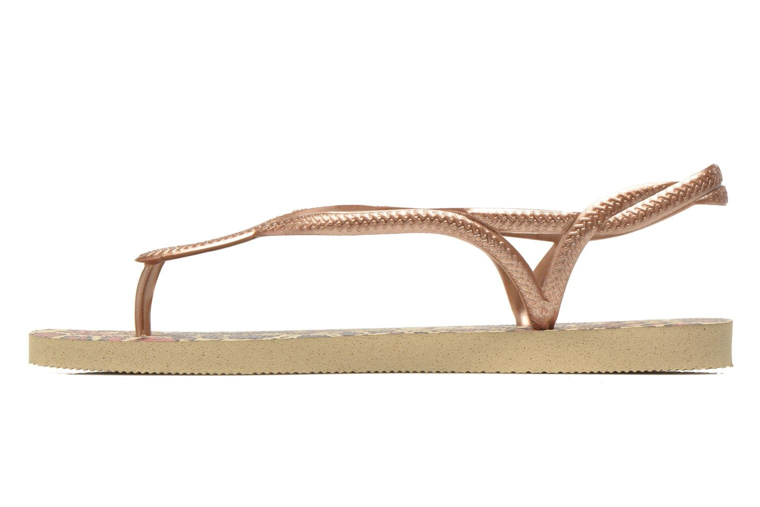Havaianas Luna Animals Sand Grey Rose Gold