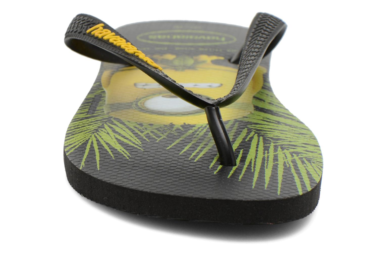 Tongs Havaianas Havaianas Minions H Jaune vue portées chaussures