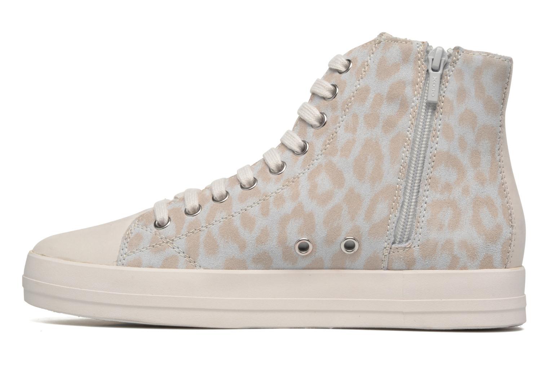 Sneaker Geox D HIDENCE A D4234A weiß ansicht von vorne