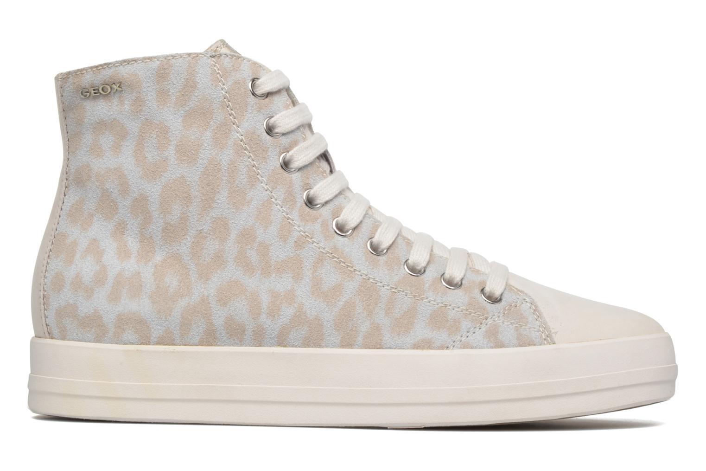Sneaker Geox D HIDENCE A D4234A weiß ansicht von hinten
