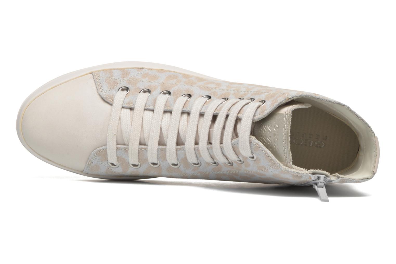 Sneaker Geox D HIDENCE A D4234A weiß ansicht von links