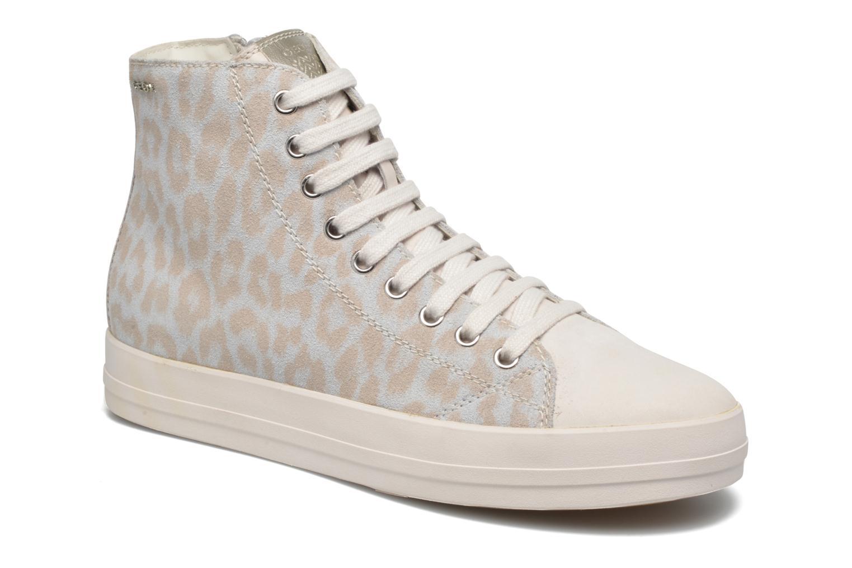 Sneaker Geox D HIDENCE A D4234A weiß detaillierte ansicht/modell