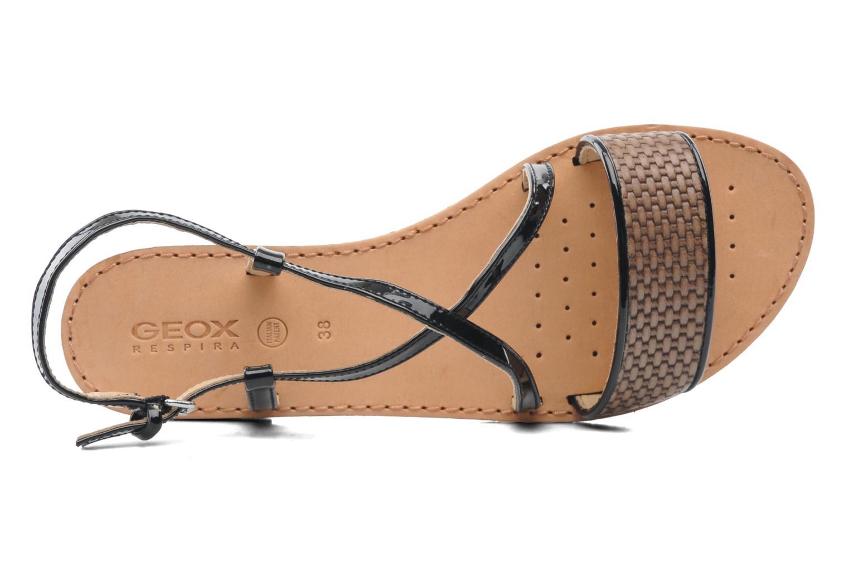 Sandales et nu-pieds Geox D JOLANDA A D5275A Multicolore vue gauche