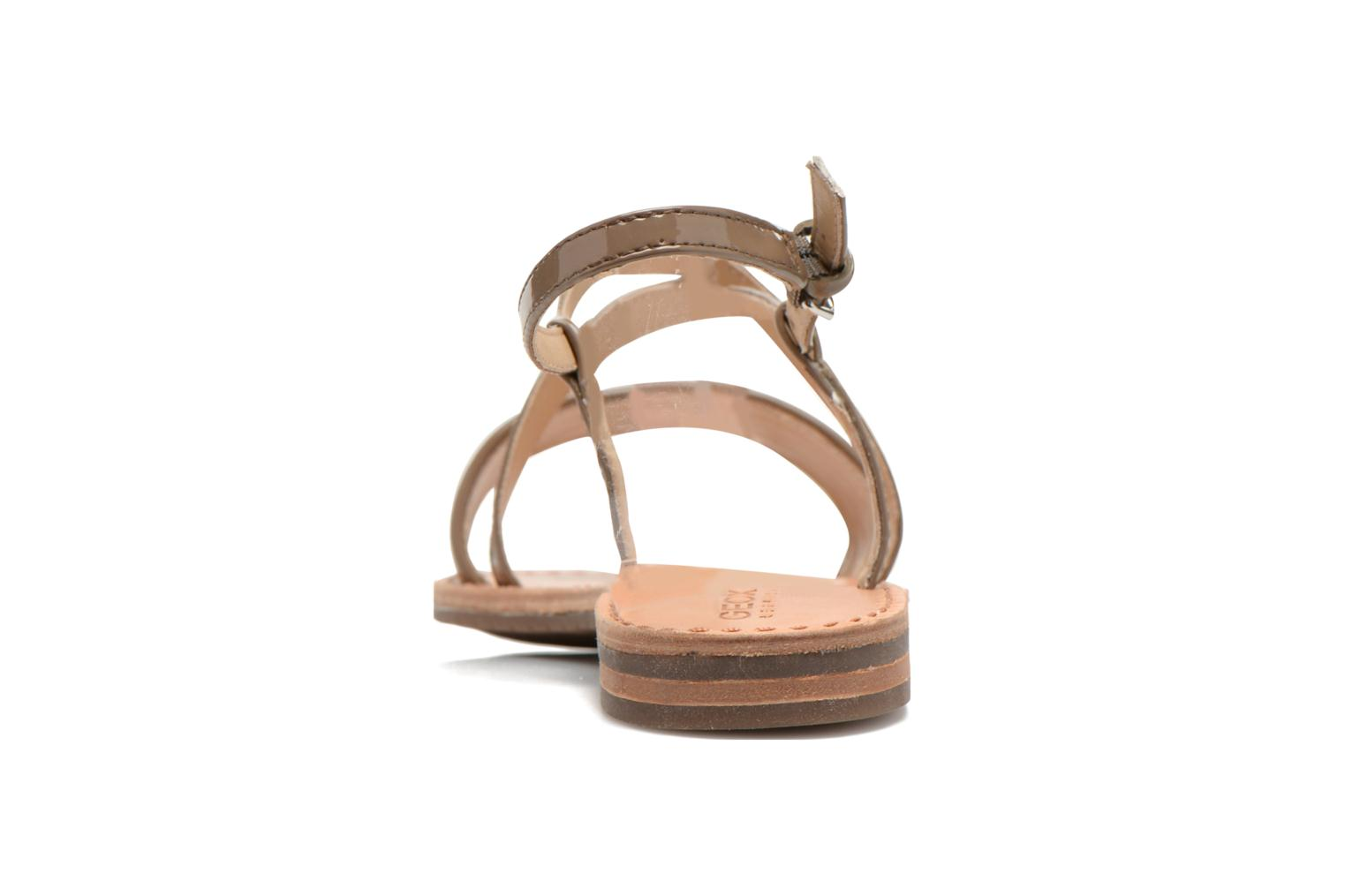 Sandals Geox D JOLANDA A D5275A Beige view from the right
