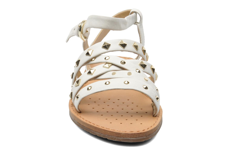 Sandalen Geox D JOLANDA E D5275E weiß schuhe getragen